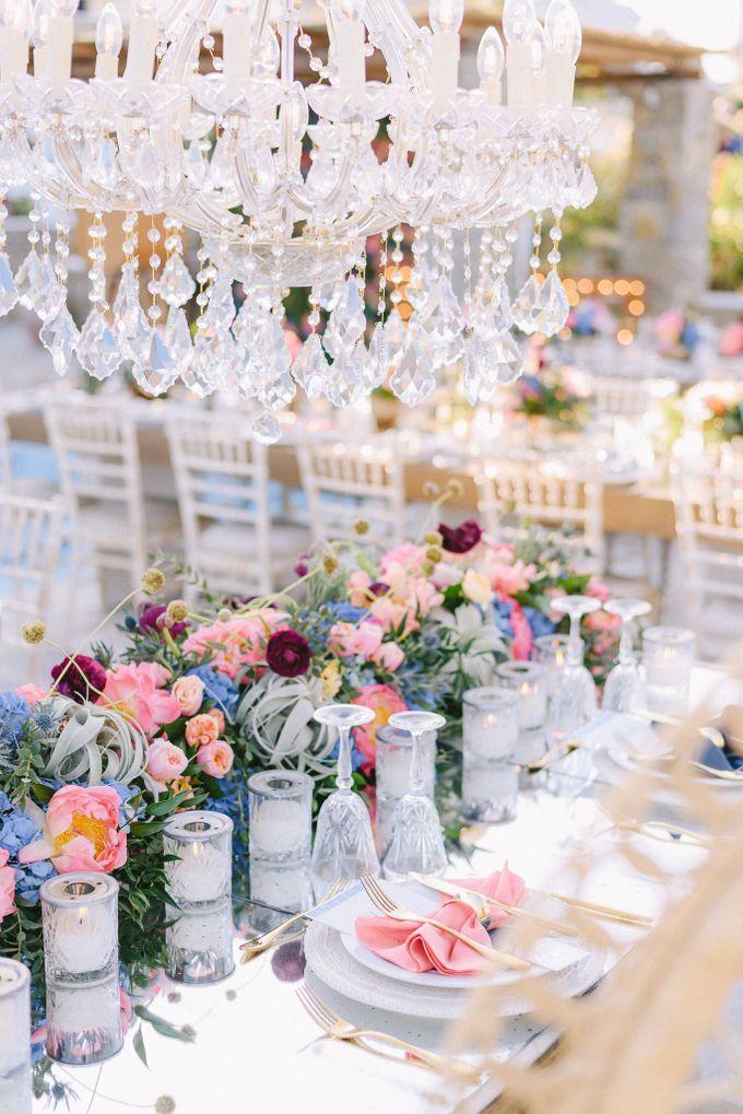 An amazing wedding in Mykonos by Elias Kordelakos - 022