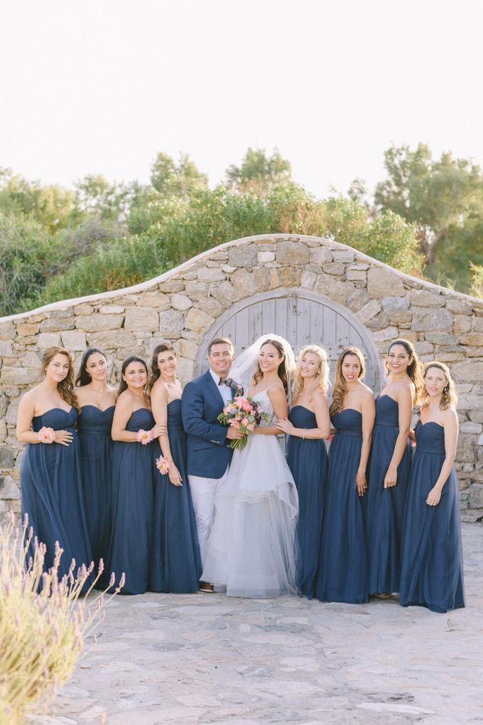 An amazing wedding in Mykonos by Elias Kordelakos - 030
