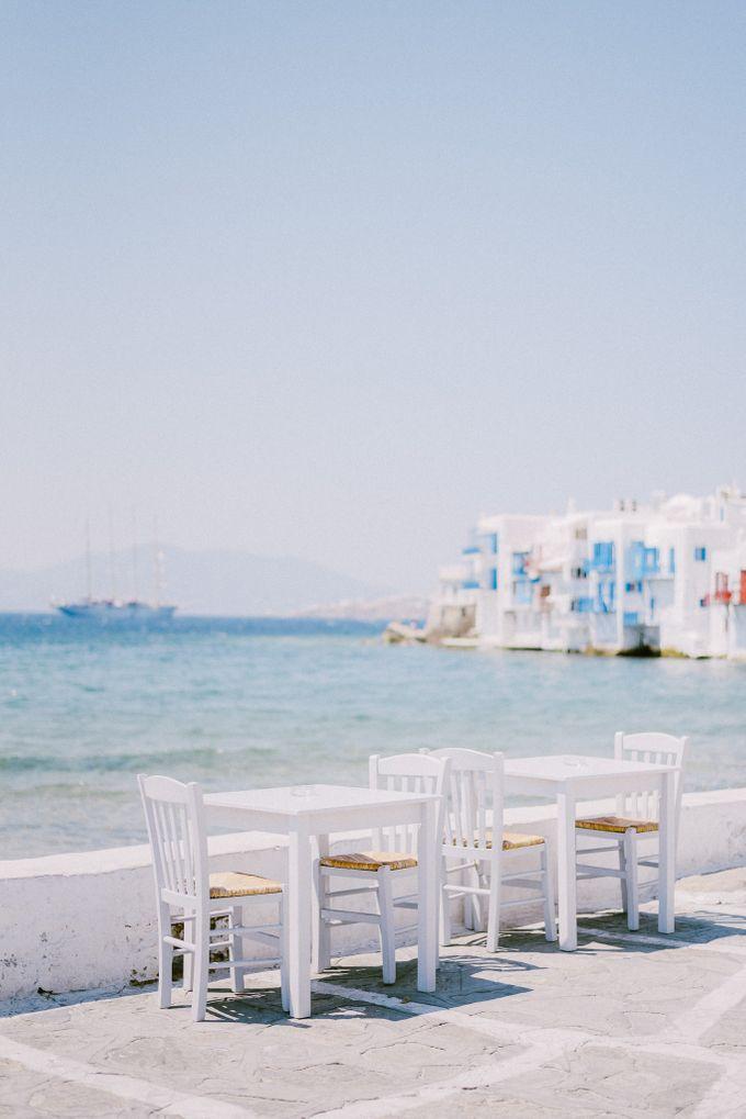 An amazing wedding in Mykonos by Elias Kordelakos - 002