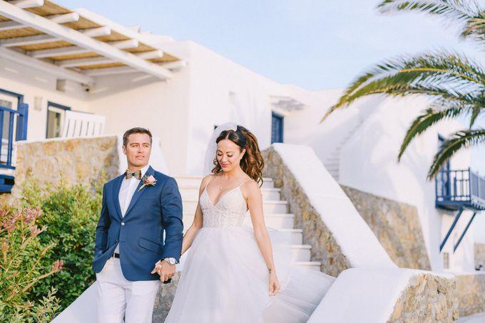 An amazing wedding in Mykonos by Elias Kordelakos - 035