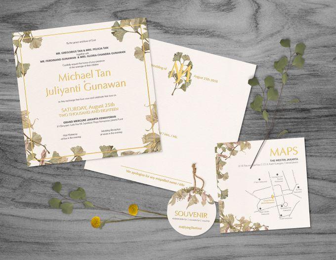 Michael & Juliyanti by Petite Chérie Invitation - 001