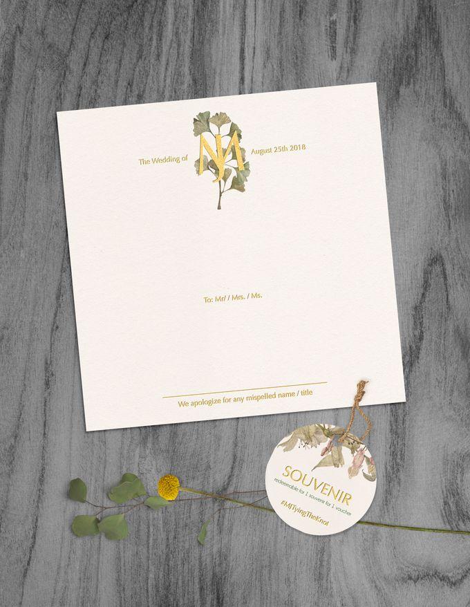 Michael & Juliyanti by Petite Chérie Invitation - 004
