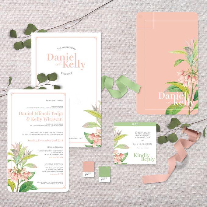 Daniel & Kelly by Petite Chérie Invitation - 002