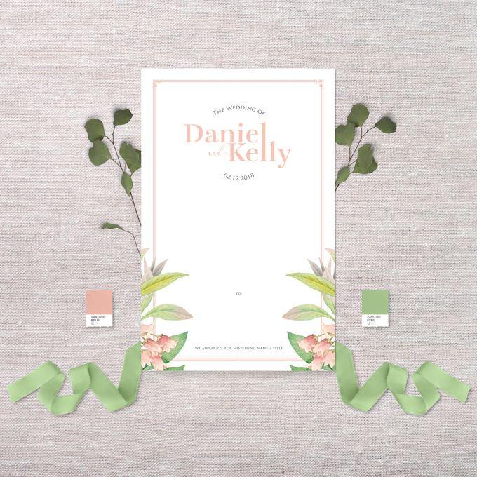 Daniel & Kelly by Petite Chérie Invitation - 003