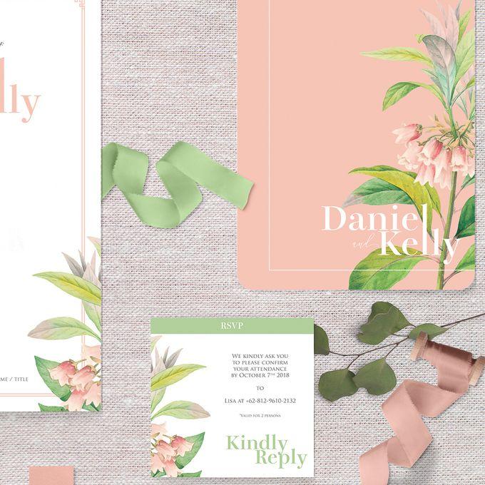 Daniel & Kelly by Petite Chérie Invitation - 005