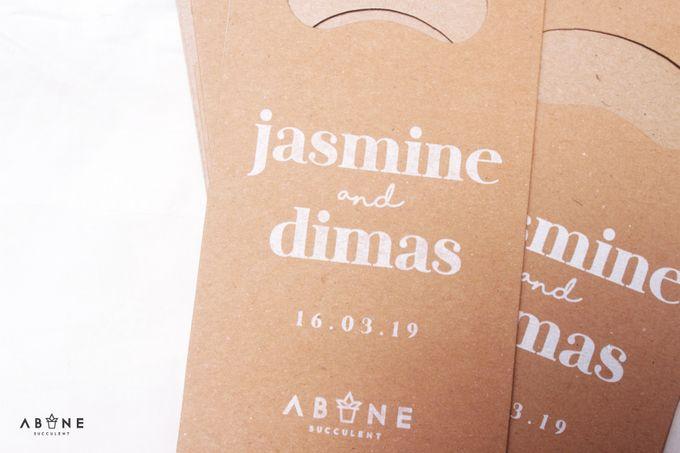 Wedding Souvenir for Dimas and Jasmine by ABANE Succulent - 001
