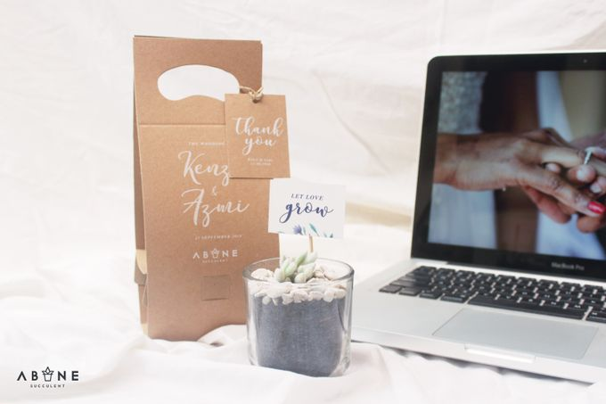 Wedding Souvenir for Kenzi and Azmi by ABANE Succulent - 004