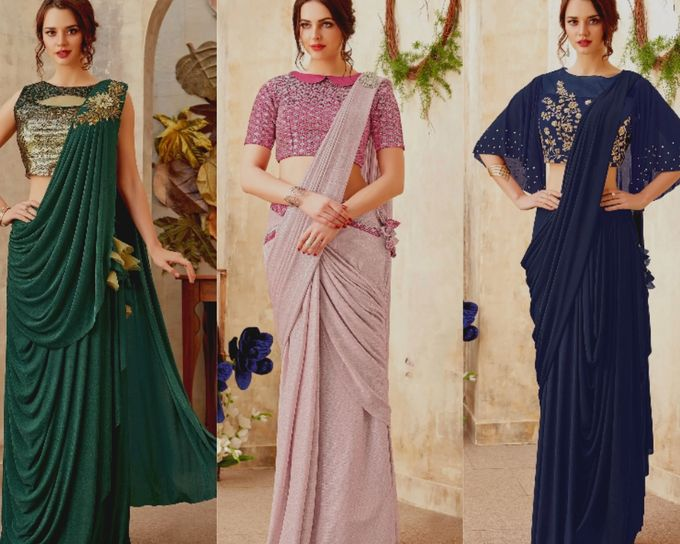 Indian Dresses by Indian Wedding Saree - 008