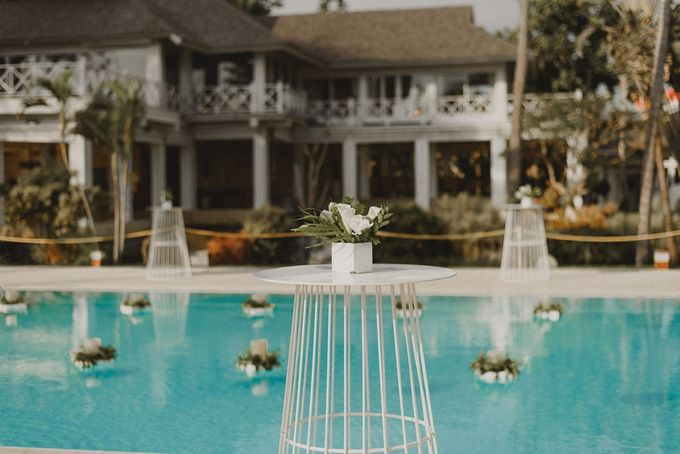 Modern Tropical Wedding by DIJON BALI CATERING - 001
