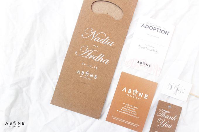 Wedding Souvenir for Nadia and Ardha by ABANE Succulent - 001