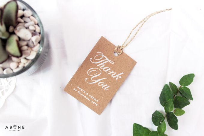 Wedding Souvenir for Nadia and Ardha by ABANE Succulent - 002