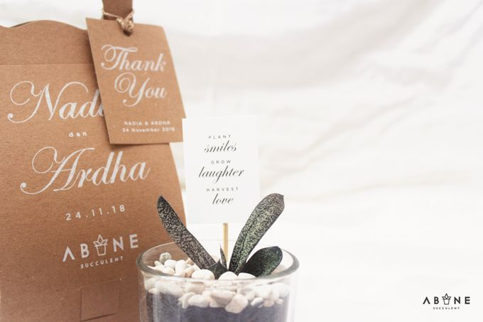 Wedding Souvenir for Nadia and Ardha by ABANE Succulent - 004