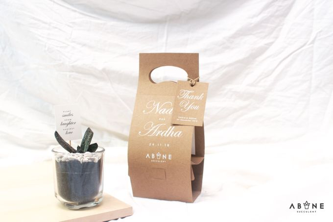 Wedding Souvenir for Nadia and Ardha by ABANE Succulent - 005