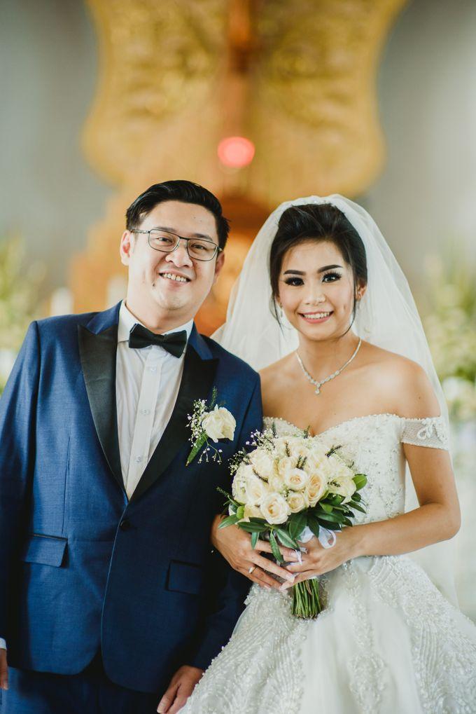 Arvan and Chelsy Wedding by Bali Wedding Planner - 019
