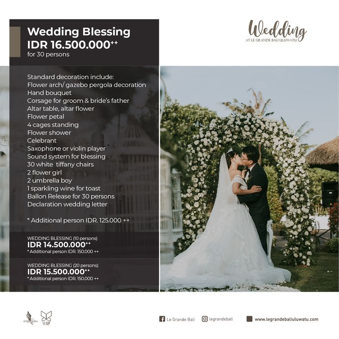 Wedding Blessing at Le Grande Bali by Le Grande Bali Uluwatu - 004