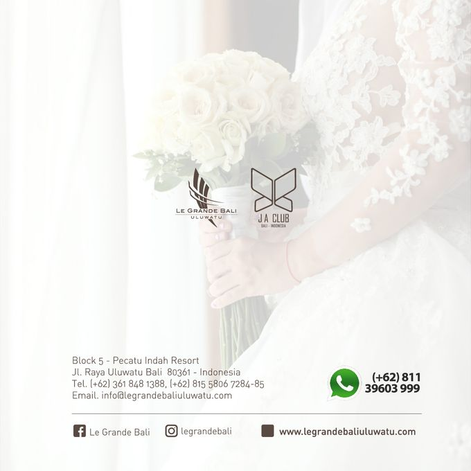 Wedding Blessing at Le Grande Bali by Le Grande Bali Uluwatu - 006