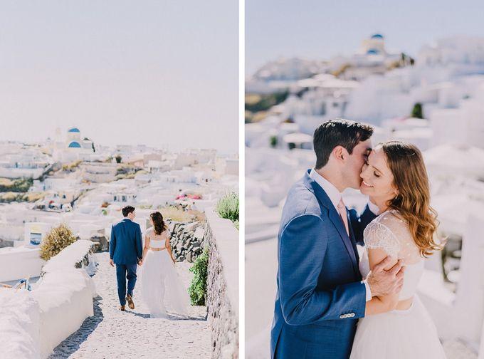 Elopement in Santorini by Elias Kordelakos - 018