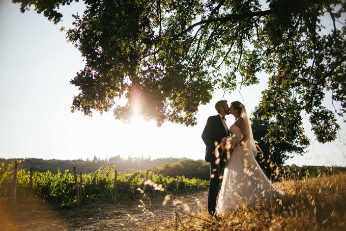 Tuscan Wedding at castello di Spltenna by Laura Barbera Photography - 017