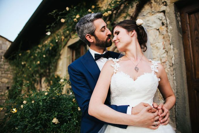 Tuscan Wedding at castello di Spltenna by Laura Barbera Photography - 019