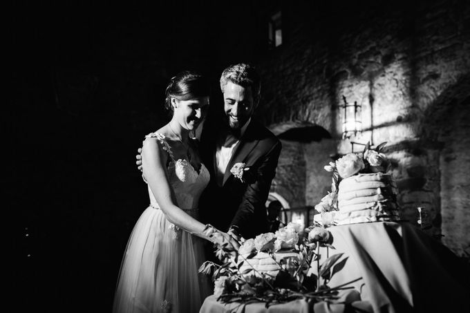 Tuscan Wedding at castello di Spltenna by Laura Barbera Photography - 021
