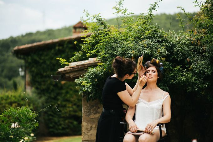 Tuscan Wedding at castello di Spltenna by Laura Barbera Photography - 006