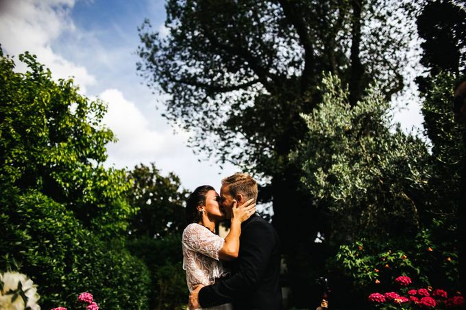 Funny outdoor norvegian wedding in Florence by Laura Barbera Photography - 028