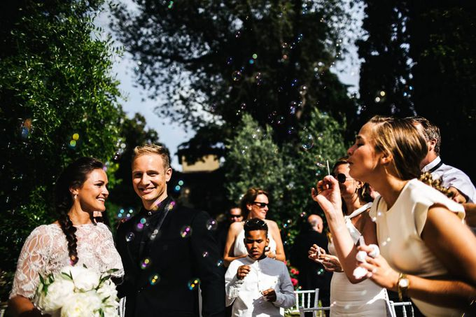 Funny outdoor norvegian wedding in Florence by Laura Barbera Photography - 030