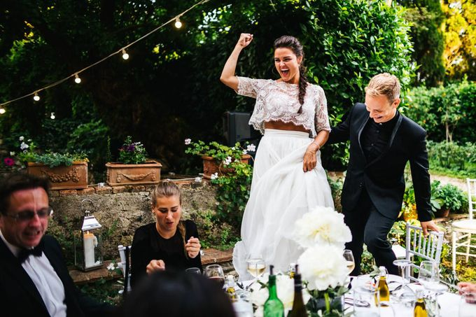 Funny outdoor norvegian wedding in Florence by Laura Barbera Photography - 045