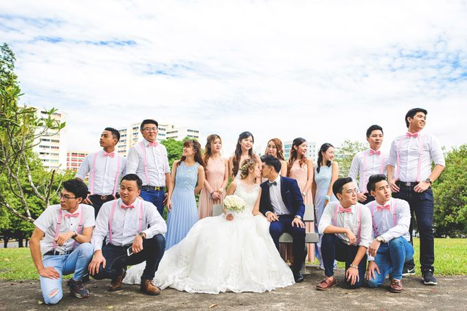 Wedding Photography Singapore - Actual Day Wedding - S & D by Rave Memoirs - 025