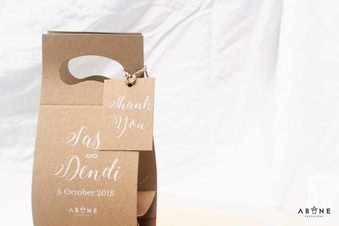 Wedding Souvenir for Sasa and Dendi by ABANE Succulent - 003