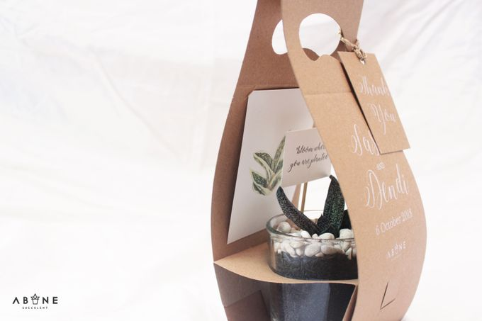 Wedding Souvenir for Sasa and Dendi by ABANE Succulent - 005