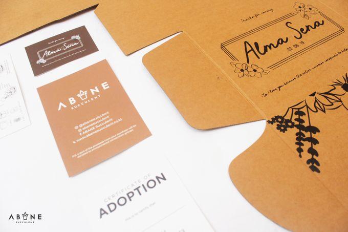 Wedding Souvenir for Alma and Sena by ABANE Succulent - 006