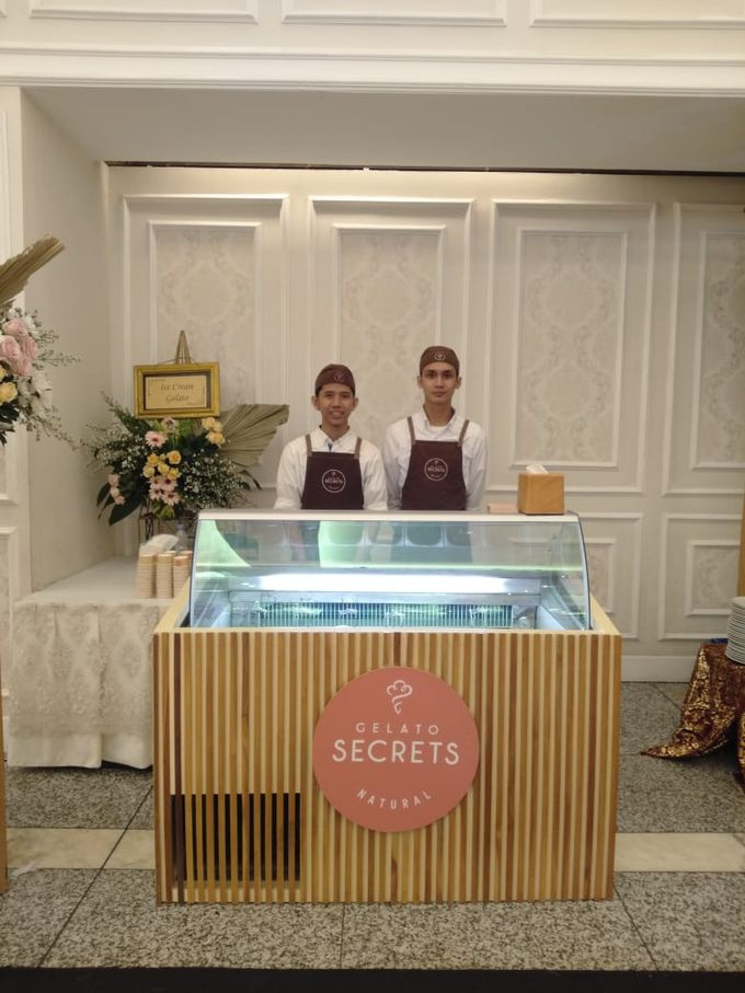 Wedding Cart by Gelato Secrets - 005