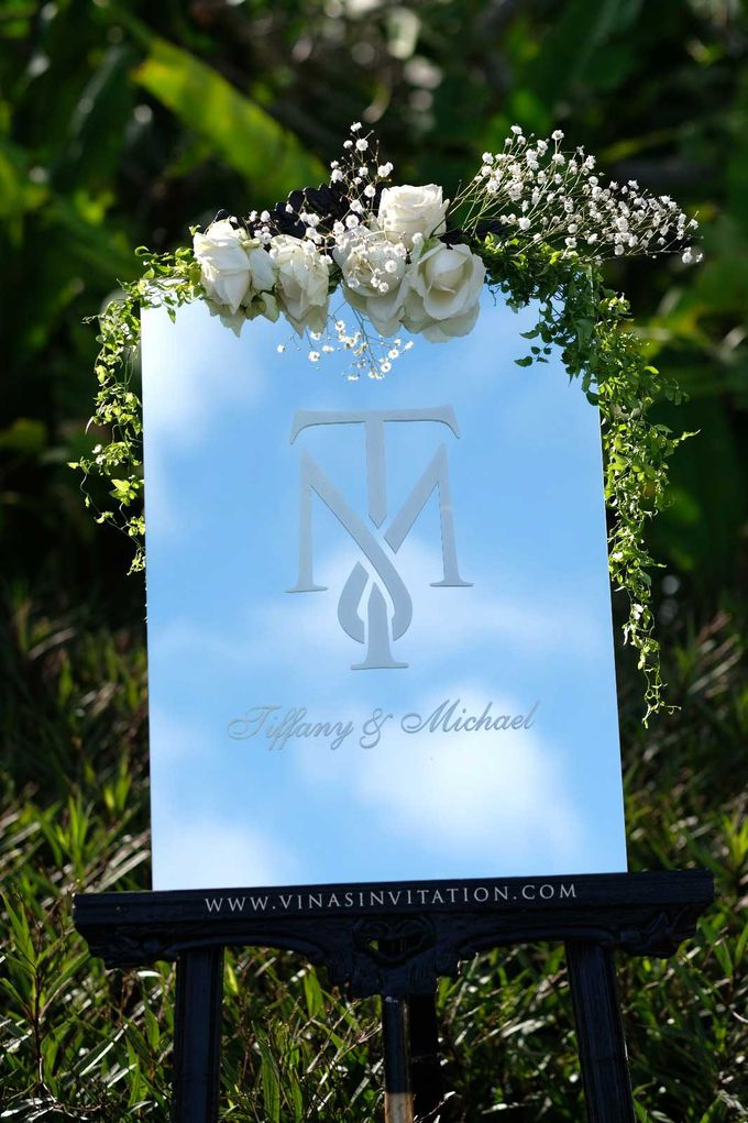 Tiffany & Michael - stationary by Vinas Invitation - 004