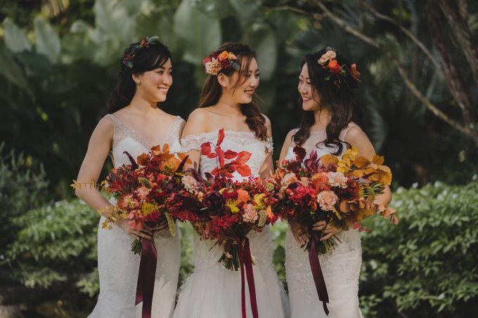 Three Beautiful Brides by Jennis Wong Makeup - 004