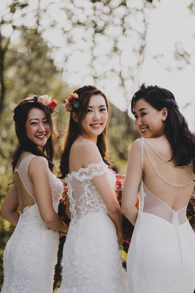 Three Beautiful Brides by Jennis Wong Makeup - 003