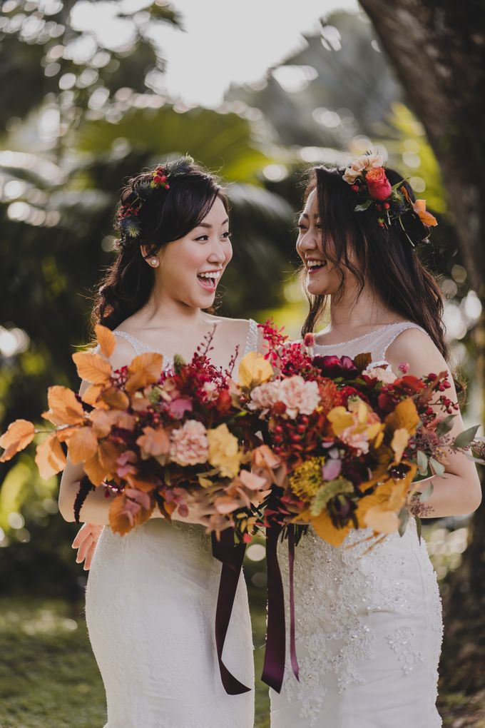 Three Beautiful Brides by Jennis Wong Makeup - 005
