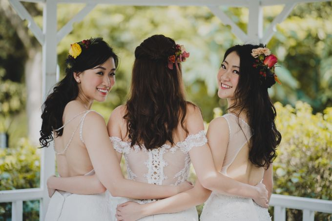 Three Beautiful Brides by Jennis Wong Makeup - 006