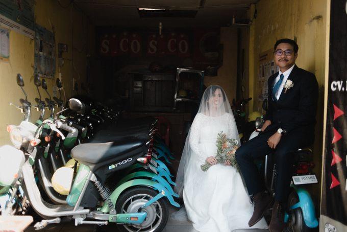 Tika and Kiki  | WEDDING by MERAWI - 017