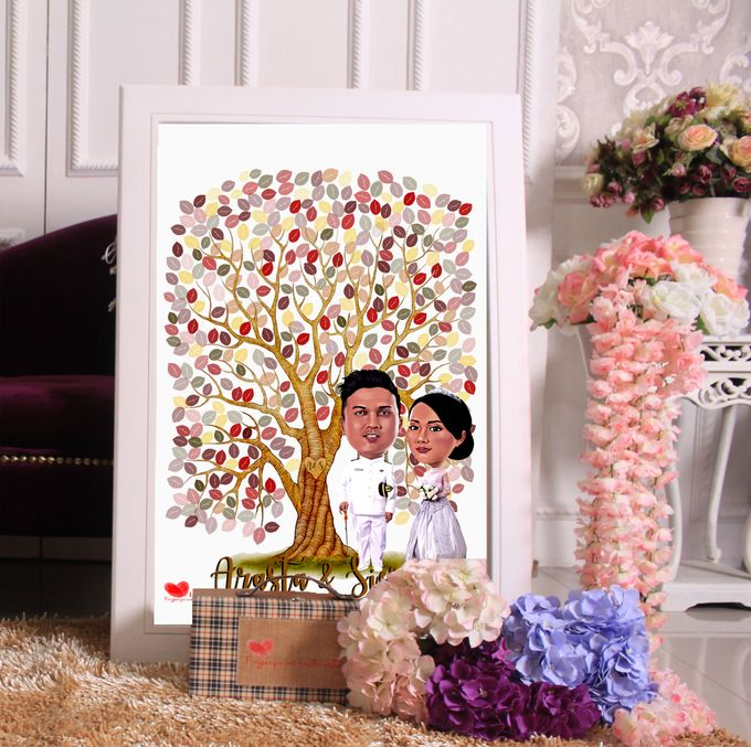 Siesy & Arasta by Wedding Fingerprint Indonesia - 004