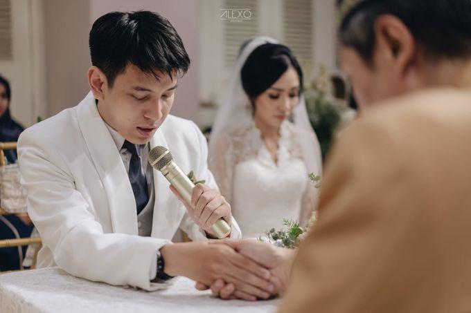 Highlight of Andhika & Sasha by Double Happiness Wedding Organizer - 005