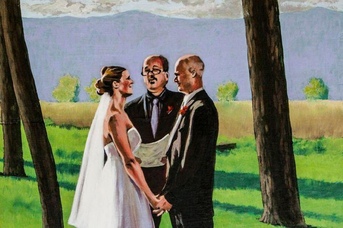 Live Wedding Art by TayloredArt - 005