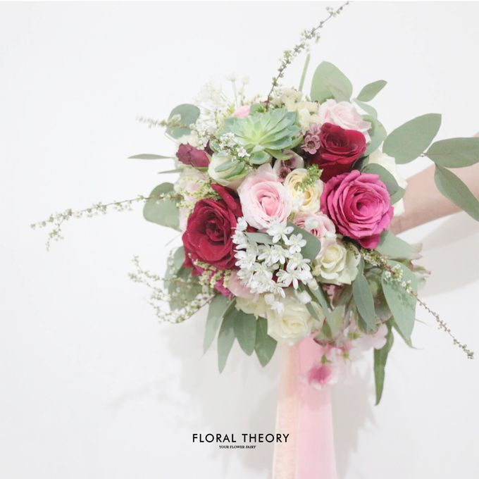 Wedding Bouquet Mrs Rativ by Floral Theory - 002