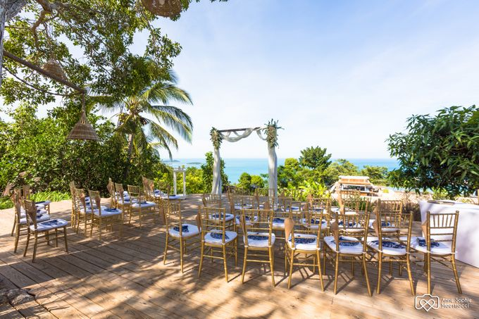 Caz & Rob Wedding by Samui Weddings and Events - 002