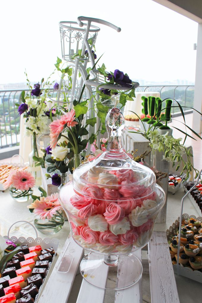 Rustic Wedding Dessert Table by Manna Pot Catering - 022