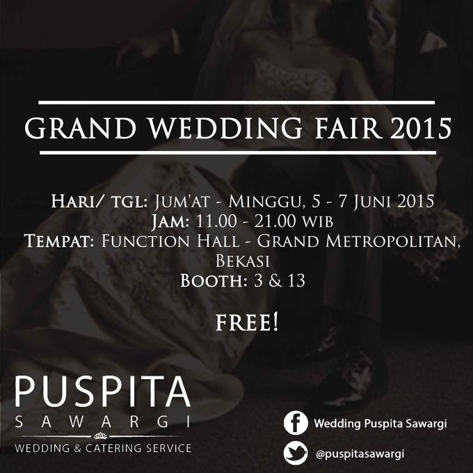 GRAND WEDDING FAIR 2015 by PUSPITA SAWARGI (wedding and catering service) - 001