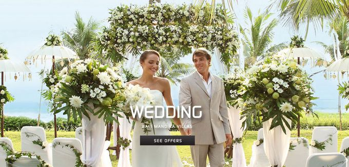 Bali Mandira Wedding by Bali Mandira Beach Resort & Spa - 001