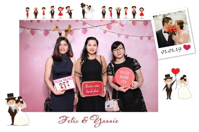 Felix & Yannie Wedding by Printaphy Photobooth Ho Chi Minh Sai Gon Vietnam by Printaphy Photobooth Vietnam - 007