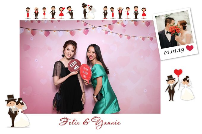 Felix & Yannie Wedding by Printaphy Photobooth Ho Chi Minh Sai Gon Vietnam by Printaphy Photobooth Vietnam - 008