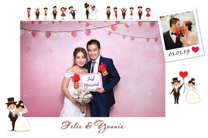 Felix & Yannie Wedding by Printaphy Photobooth Ho Chi Minh Sai Gon Vietnam by Printaphy Photobooth Vietnam - 001